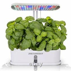 Hydroponics Growing System, 10Pods Indoor Herb Garden Kit with LED