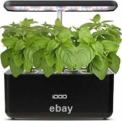 Hydroponics Growing System, Indoor Herb Garden Starter Kit with LED