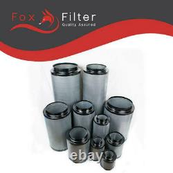 Hydroponics Premium Fox Carbon Filter 8 200 / 400mm Extraction System Grow Tent