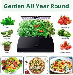 Hydroponics System Indoor Growing System with a Adjustable 5.9-12inchs LED Grow