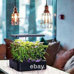 Indoor Herb Garden Kit, Hydroponics Growing System With LED Grow Light