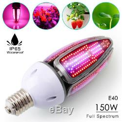 LED Grow Light E40 150W Full Spectrum LED Grow Lights Hydroponic Grow System NEW