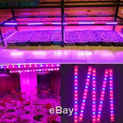 Led Grow Light tube Plants flower Hydroponic System tent green house lighting