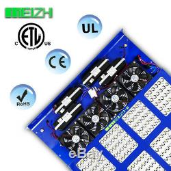 MEIZHI Reflector1200W LED Grow Light Full Spectrum 12 band For Indoor Plant Lamp
