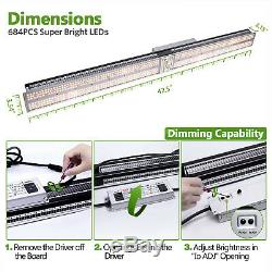 Mars Hydro SP 250 Led Grow Lights Full Spectrum Hydroponic for 4'x2' Indoor Tent