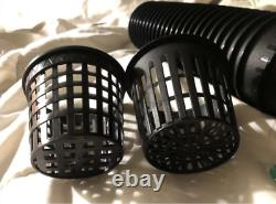 Mesh Pot Net Cup Basket Hydroponic System Garden Plant Grow Vegetable Cloning In