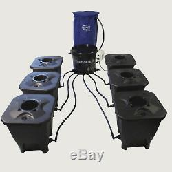 Nutriculture Rush DWC Deep Water Culture System 4,8,12,16,20,24 Pot Hydro Grow