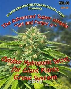 Outdoor Hydroponic Secret for Giant Plants Grow System Simple by Switzer Obadia
