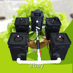 Rdwc 5 Pot 100l Automated System Hydroponic Growing Kit Free Shipping
