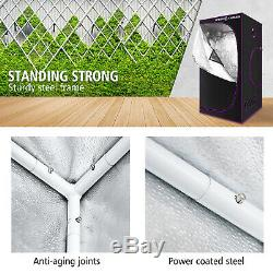 Spider Farmer Indoor Grow Tent 3'X3'X6' Hydroponic Plant Reflective 600D Oxford