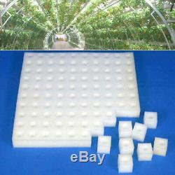 Sponge Cubes Hydroponic Grow Media Soilless Cultivation System Garden Plant Tool