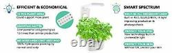 Sprout LED Indoor Hydroponics Growing System, Smart LED Lighting for