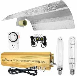 SunStream 1kw HPS/MH Digital Dimmable Grow Light System Kits Wing Reflector Set