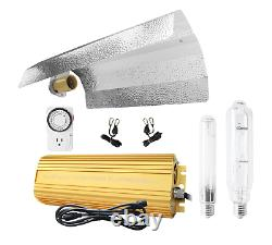SunStream 600w HPS/MH Digital Dimmable Grow Light System Kits Wing Reflector Set