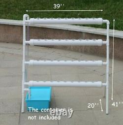 TECHTONGDA Hydroponic 36 Plant Site Grow Kit Indoor or Outdoor Grow System