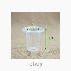 TECHTONGDA Hydroponic 54 Plant Site Grow Kit 2 Layers 6 Pipes 110V Water Pump