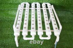 TECHTONGDA Indoor /Outdoor Hydroponic 54 Plant Site Grow System Kit