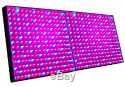 TWO Grow Light Panel 225 LEDs (Blue+Red) for Green house, Hydroponic System