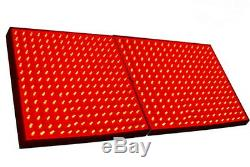 TWO Grow Light Panel 225 LEDs Red for Green house, Hydroponic System