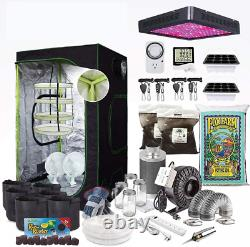The Bud Grower Hydroponic Growing System Grow Tent Advanced Kit 2