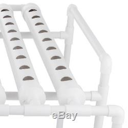USA 72 Sites Hydroponic Site Grow Kit Ebb and Flow Deep Water Ladder Garden Pump