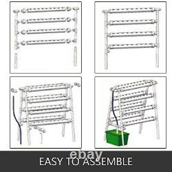 VEVOR Hydroponic Site Grow Kit 72 Sites Ladder-type Plant System Vegetable Tool