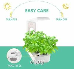 VegeBox Sprout LED Indoor Hydroponics Growing System, Kitchen Box, White