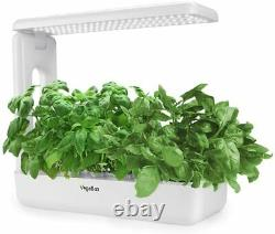 VegeBox Table Hydroponic Growing System BMT002WH LED Planter Box White NEW