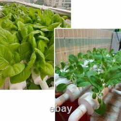 WEPLANT NFT System Hydroponic 36 Plant Site Grow Kit for 4Row-1Layers-36Hole