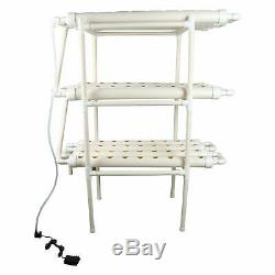 YaeTool Hydroponic Grow Kit 12 Pipes 3 Layers Growing System 108 Plant